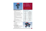 Type 23 - Multiport Thermoplastic Ball Valves (1/2 to 6) - Datasheet