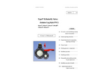 Type 57IL Isolator Lug Thermoplastic Butterfly Valves – Manual