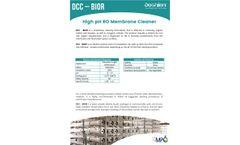 Doshion - Model DCC - BIOR - High pH RO Membrane Cleaner - Brochure
