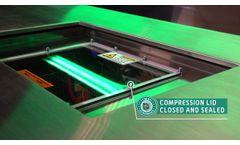 Crest Ultrasonics Solvac S1 Vapor Degreaser   Compact Ultrasonic Vapor Degreaser - Video