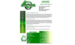 Oasis - Fiber Mulch Brochure