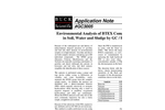GC3005 Environmental Analysis of BTEX Compounds in Soil, Water, and Sludge by GC/PID - Application Notes