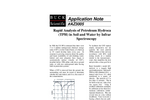 AZ3005 Rapid Analysis of Petroleum Hydrocarbons (TPH) in Soil and Water by Infra-red Spectroscopy - Application Notes