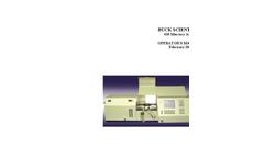 Buck Scientific - 410 - Mercury Analyzer Manual