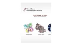Brookhaven - Model NanoBrook 173Plus - Particle Size Analyzer - Brochure