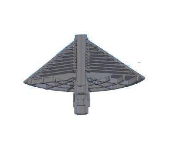 ECO-ANT21 - Model ANT240 - Medium Bubble Cone Type Air Diffuser