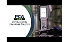 Bacharach PCA 400 Combustion and Emissions Analzyer Video