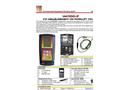 IM - Model PCA 400 - Flue Gas Analyser Brochure