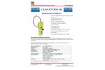 Leakator Jr - Gas Leak Detector Brochure