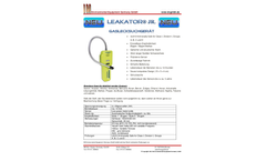 Leakator Jr - Gas Leak Detector Brochure