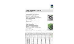 Triplex - Model K 9000-3G - Plunger Pump Brochure