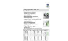 Triplex - Model K 10000-3G - Plunger Pump Brochure