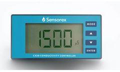 Sensorex - Model CX20 - Conductivity Controller