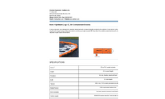 Oil Containment Booms Log I-C Brochure