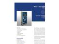 Model PMA2100 - Data Logging Radiometer Brochure