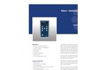 Model PMA2200 - Single Input Radiometer- Brochure