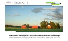 RAITA Environment Technology Domectis Systems - General Brochure