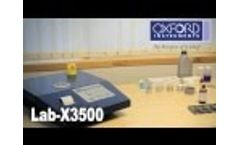 LabX3500 XRF for Sulfur Testing and More Production Control - Video