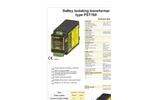 FEAS Transformer PST100 Data Sheet