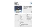 ASM WB10ZG - Stainless Steel Tape Position Sensor Data Sheet