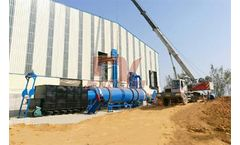 Dingli - Model DLSG - Poultry Manure Rotary Dryers