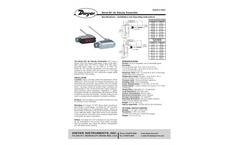 Series 641 Air Velocity Manual