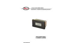 Loop Powered Process Indicator - Model A-705-20 Manual