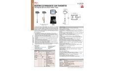 Dwyer Series IEF Insertion Electromagnetic Flow Transmitter - Brochure