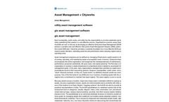 Asset Management Software Datasheet