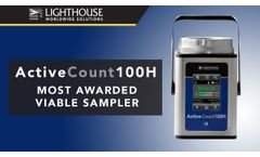 Most Awarded Viable Air Sampler / ActiveCount100H (2018) - Lighthouse Worldwide Solutions - Video
