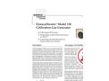 Dynacalibrator - Model 150 - Calibration Gas Generators Brochure