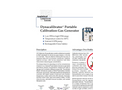 Dynacalibrator - Model 120 - Calibration Gas Generators Brochure
