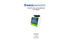 PeCOD - Model L50 - Laboratory or Field COD Analysis - User Manual