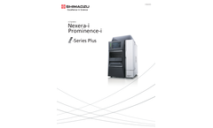 Shimadzu - Model i-Series Plus - Integrated HPLC System - Brochure
