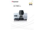 Shimadzu - Model AA-7000 - Atomic Absorption Spectrophotometer - Brochure