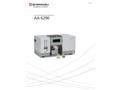 Shimadzu - Model AA-6200 - Atomic Absorption Spectrophotometer - Brochure