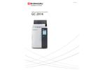 Shimadzu - Model GC-2014 - Capillary and Packed Gas Chromatograph - Brochure