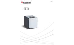 Shimadzu - Model HS-10 - Headspace Samplers - Brochure