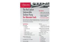 Veeder-Root - Model AG - Red Jacket Submersible Turbine Pump Brochure