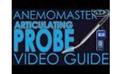 Kanomax Anemomaster 6036 Probe - Extending & Locking Video Guide Video