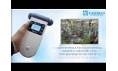 Kanomax Gasmaster Handheld Gas Monitor - Overview Video