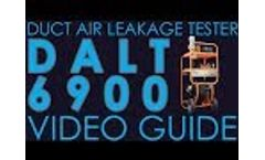 Kanomax Duct Air Leakage Tester 6900 - Video Guide