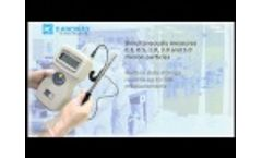 Kanomax Handheld Particle Counters - Overview Video