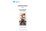 Kanomax - Model 6900 - Advanced Duct Air Leakage Tester (DALT) - Manual