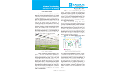 Airflow Monitoring for Indoor Farming - Application Note