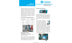 Guide to Dust Monitors - Application Note