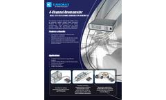 Kanomax - Model 1570 - 4-Channel Anemometer - Brochure