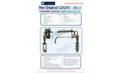 Kanomax Cegrit - Model MK-2 - Automatic Isokinetic Particulate Flyash Sampler - Brochure