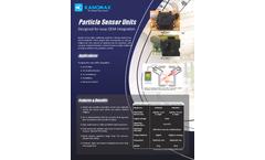 Kanomax - Model PPD42NJ/PPD60PV - Particle Sensor Units - Brochure