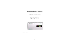 Kanomax - Model AES-1000 - Aerosol Particle Monitor - Manual